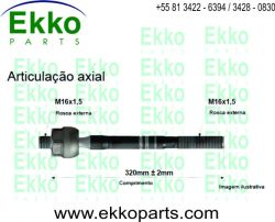 BARRA AXIAL DIREÇÃO FIAT DUCATO 1998  EKO13003
