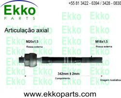 BARRA AXIAL DAILY 70C16 2007 EKO24039