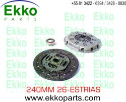 KIT DE EMBREAGEM MERCEDES SPRINTER 310 / 312 1997 EKO22041