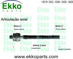 BARRA AXIAL DIREÇÃO FORD RANGER 1998 EKO15001