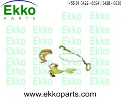 REPARO DO REGULADOR  TRASEIRO LE FORD F250/  F350 1999 EKO16059
