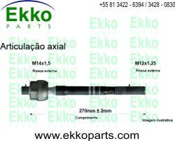 AXIAL DIREÇÃO ETIOS 2012 EKO12282