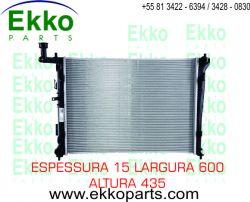 RADIADOR DE ÁGUA I30 2.0 16V 2009 À 2012 EKO25259