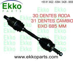SEMI EIXO HOMOCINÉTICA L.E VERACRUZ 3.8 V6 2007 ED EKO25266