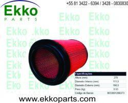 FILTRO AR KIA BONGO K2500 / K2700 2005 À  2011 EKO26051